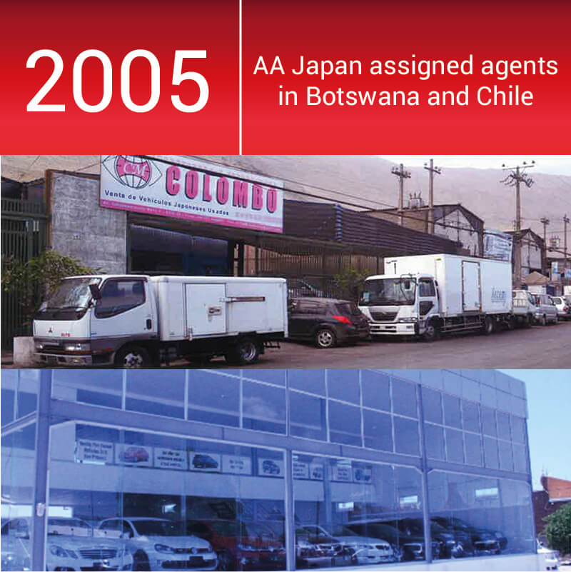 Number of agents in Botswana and Chile continue to rise
