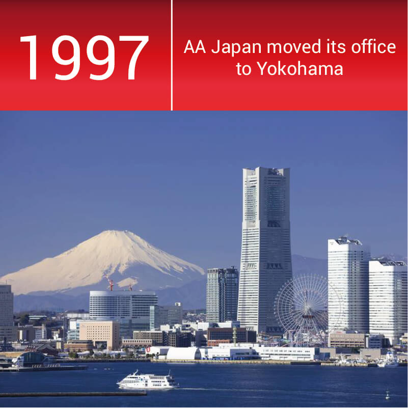 Nippon Royal Co moved its office from Tokyo to Yokohama